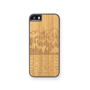 Coque en bois mammoth iPhone 5SE