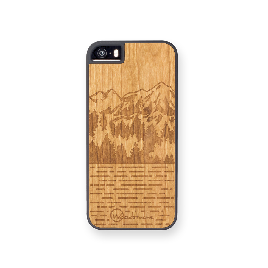 coque en bois mammoth pour iphone 5 5s se et 5c woodstache. Black Bedroom Furniture Sets. Home Design Ideas