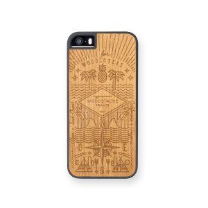 Coque iPhone 5SE bois