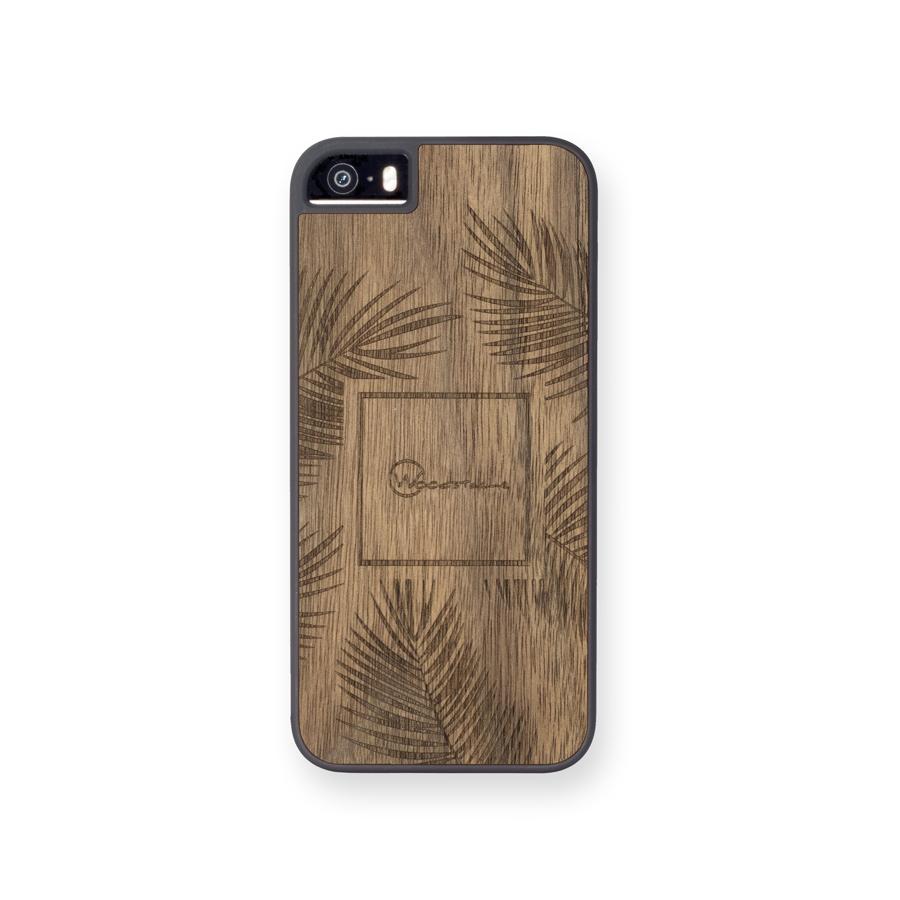 coque iphone 5se palm noyer face woodstache coque iphone en bois et clavier en bois macbook. Black Bedroom Furniture Sets. Home Design Ideas