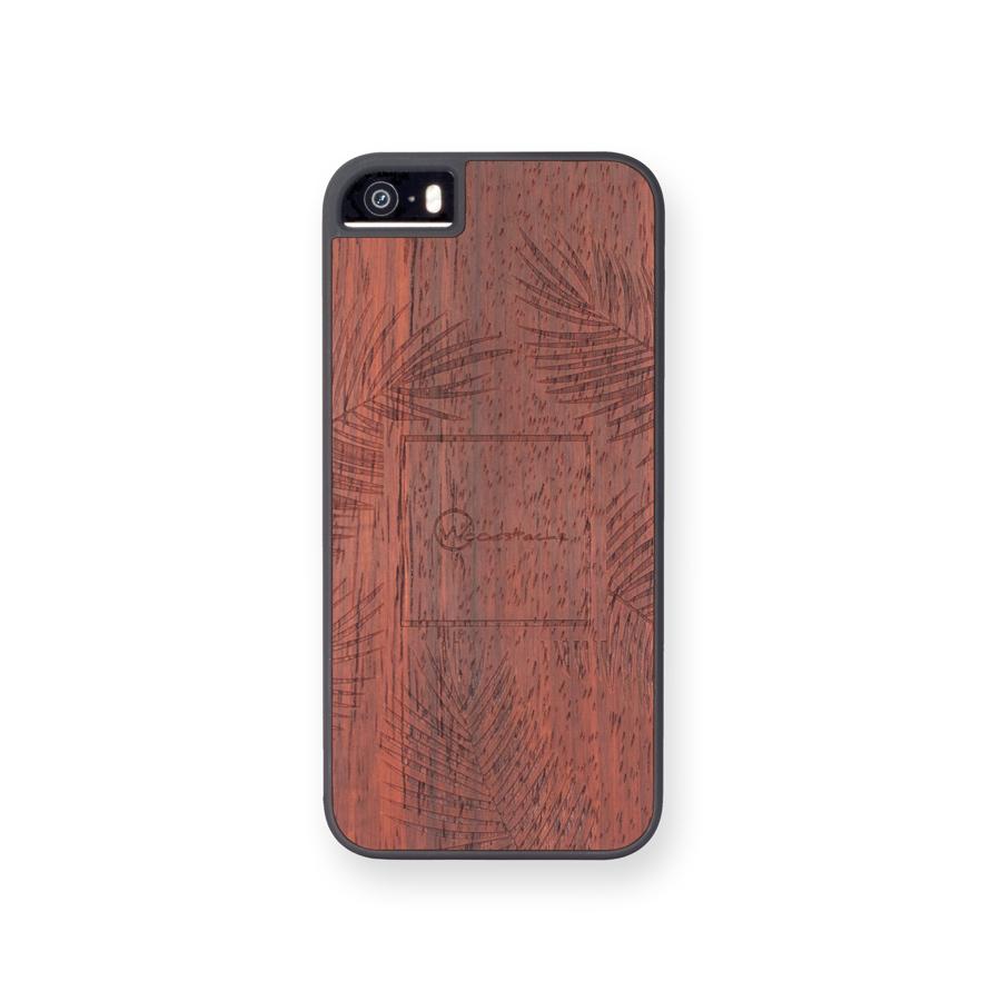 coque iphone 5se palm padouk face woodstache coque iphone en bois et clavier en bois macbook. Black Bedroom Furniture Sets. Home Design Ideas