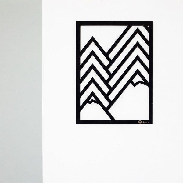 Tableau en bois mountain