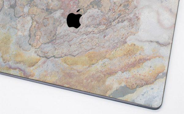 Cover macbook en pierre