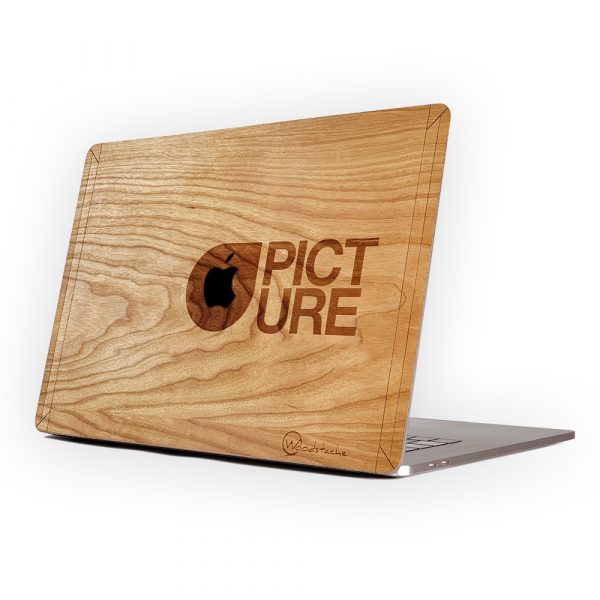 coque en bois macbook picture