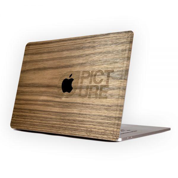 coque en bois macbook picture