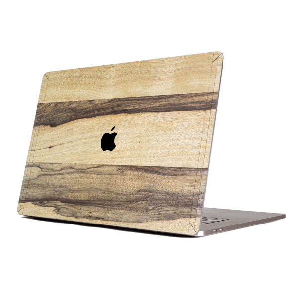 Cover en bois macbook made in france