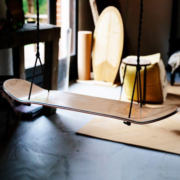 balançoire skateboard