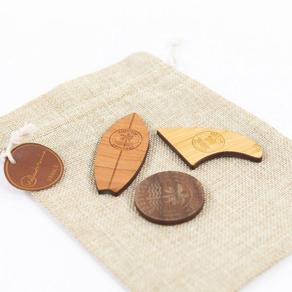 Magnet en bois