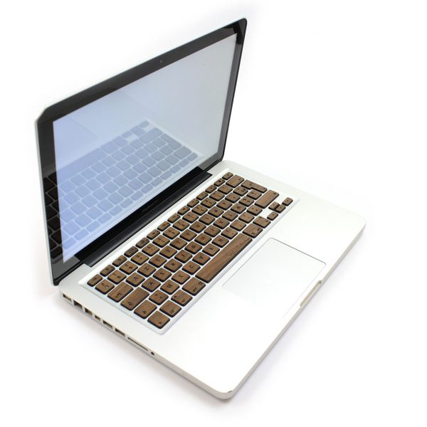 Clavier MacBook en bois