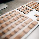 Clavier iMac en bois
