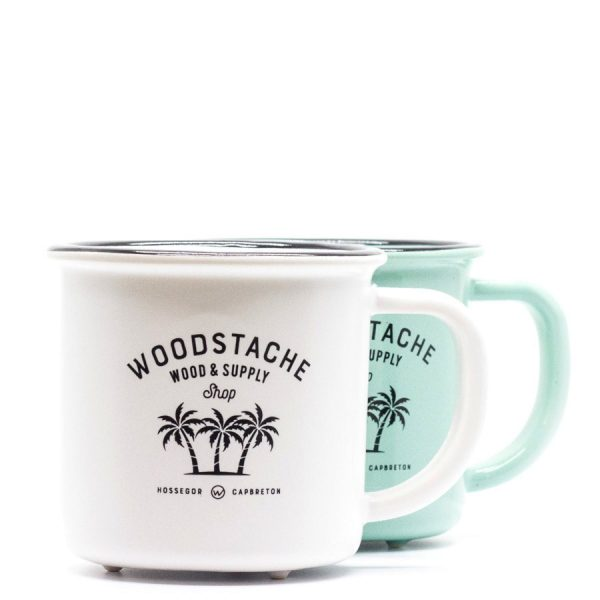 mug en céramique woodstache