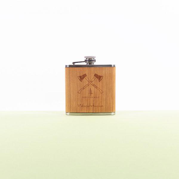 Flasque en bois