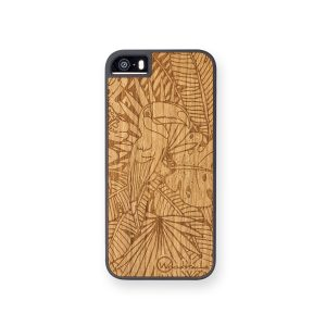 coque jungle en bois woodstache