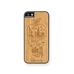 coque nyc en bois woodstache