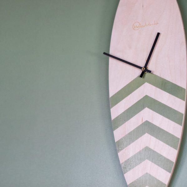 horloge surf reef en bois