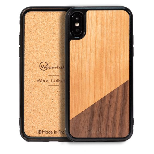 coque dual woodstache