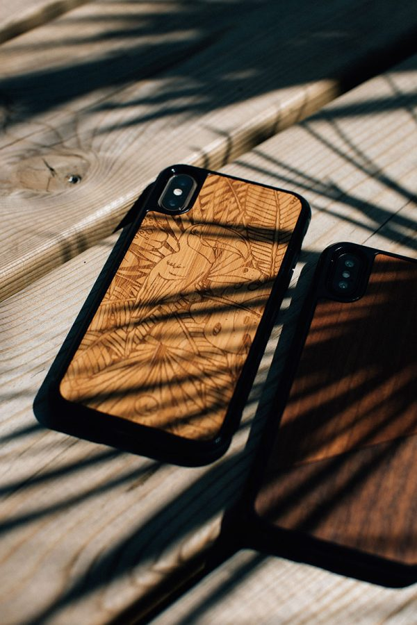 coque iPhone bois jungle woodstach