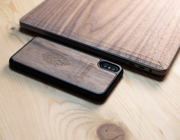 Coque en bois iPhone XS