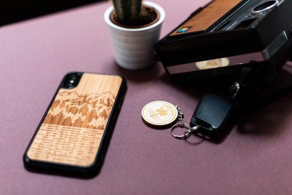 Coque en bois iPhone XS Max