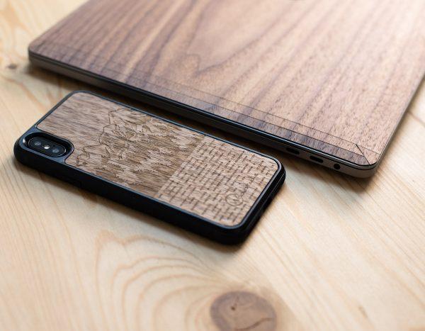 Coque en bois iPhone 8
