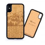 Coque iPhone en bois mammoth