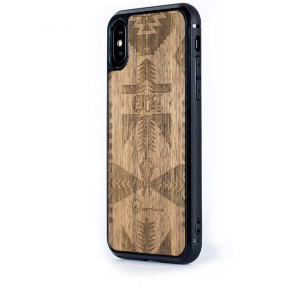 Coque iPhone Picture en bois