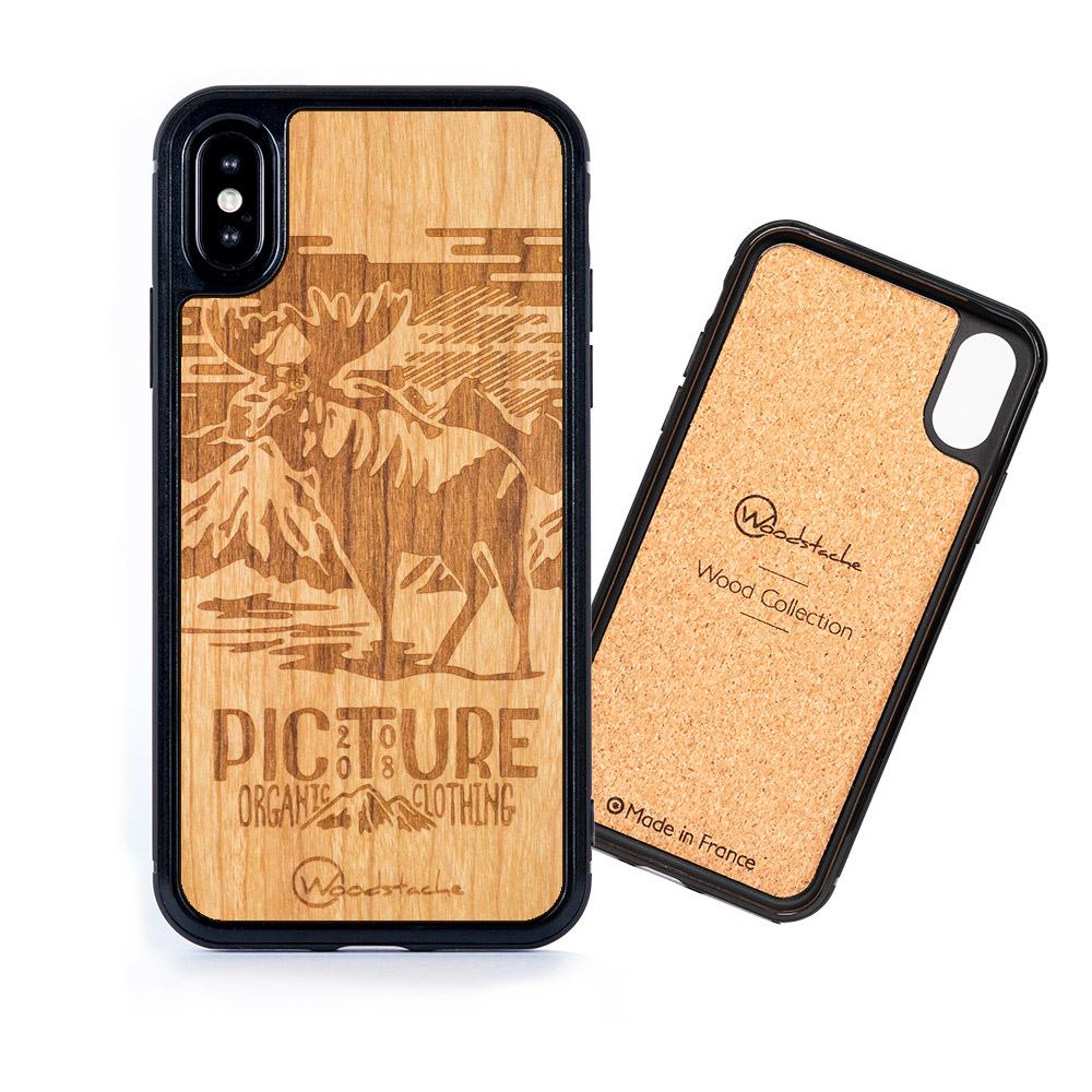Coque iPhone Picture en bois