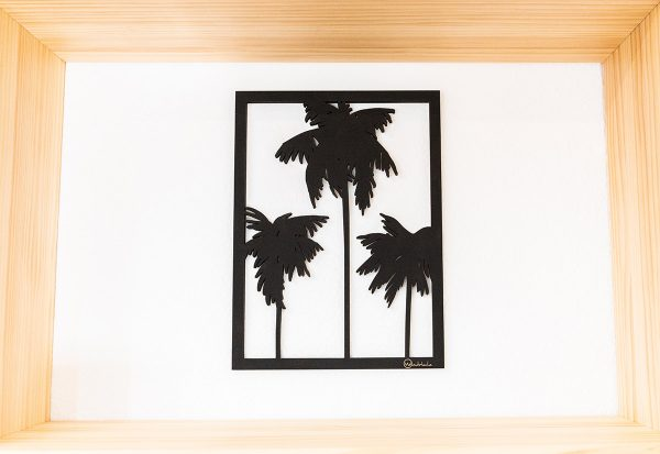 Tableau en bois coconuts