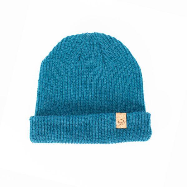 bonnet woodstache bleu clair
