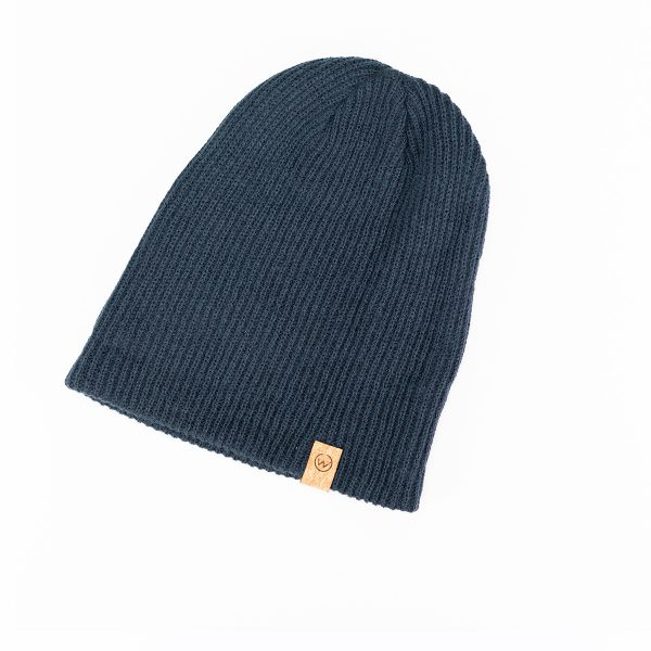 bonnet woodstache bleu