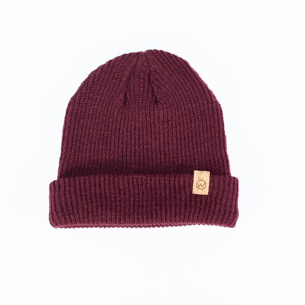 bonnet woodstache magenta
