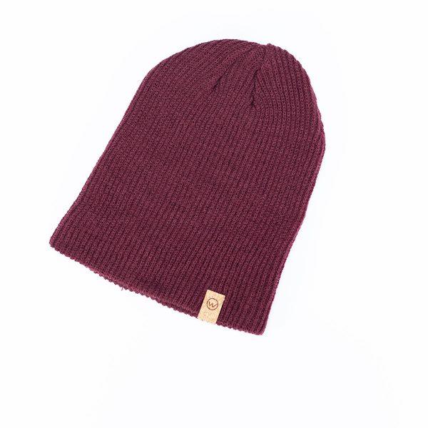 bonnet woodstache bordeau