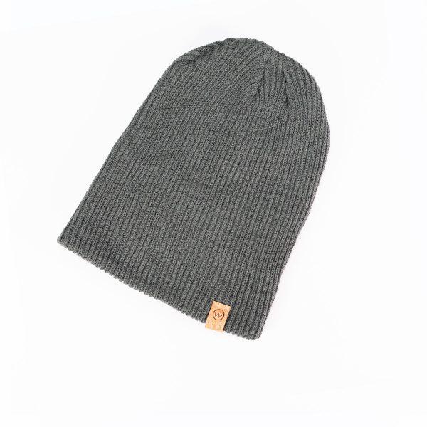 bonnet woodstache gris