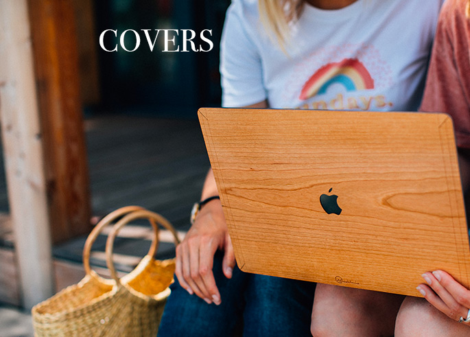 woodstache cover macbook