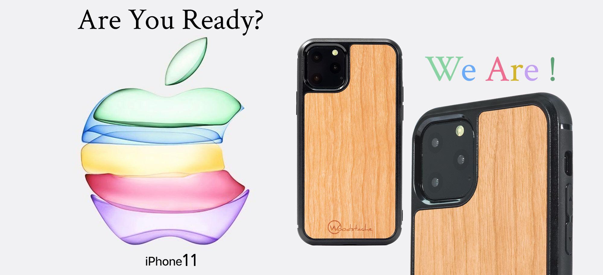 iPhone 11 coque en bois