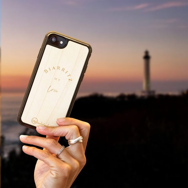 coque iPhone biarritz
