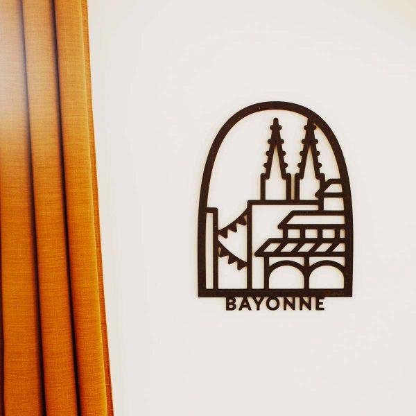 tableau en relief Bayonne