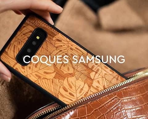 Coques Samsung en bois