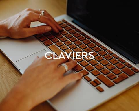 Claviers en bois pour MacBook